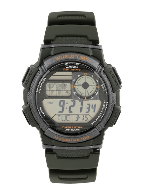 Casio Youth Digital Men Black Digital Watch D119