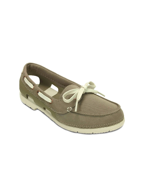 Crocs Women Olive Green Casual Shoes