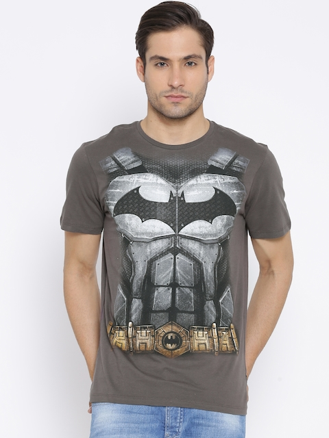 Batman Dark Grey Printed T-shirt