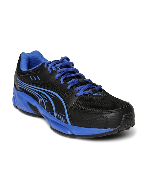 Puma Men Black Running Shoes  available at myntra for Rs.859