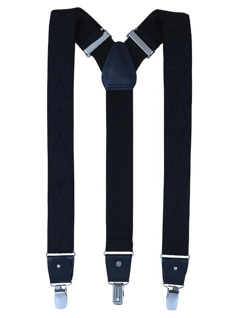 Alvaro Castagnino Men Black Patterned Suspenders