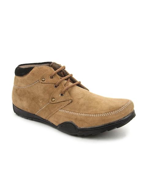 Bacca Bucci Men Tan Brown Suede Casual Shoes