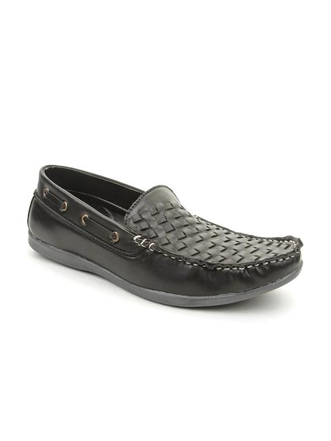 bacca bucci Men Black Loafers