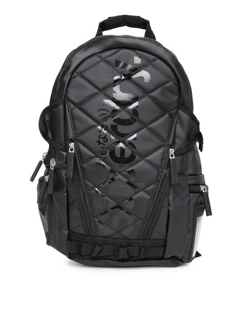 Superdry Unisex Black Laptop Backpack