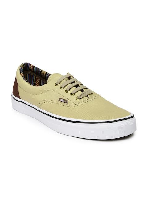 Vans Men Beige Era Casual Shoes
