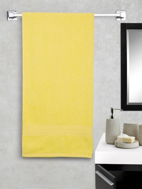 Portico New York Eva Yellow 100% Cotton Bath Towel