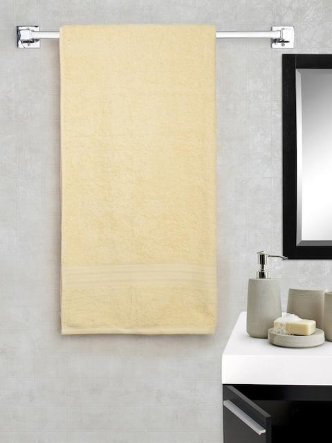 Portico New York Cream-Coloured 100% Cotton Bath Towel