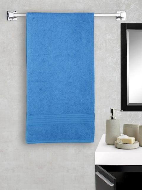 Portico New York Blue 100% Cotton Bath Towel