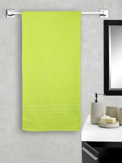 Portico New York Lime Green 100% Cotton Bath Towel