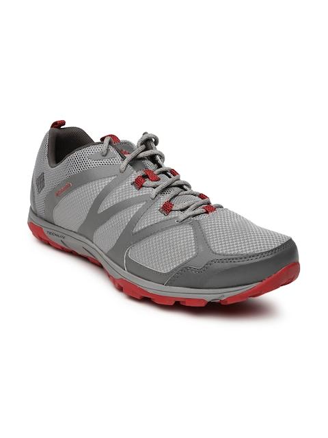 Columbia Men Grey Conspiracy Scalpel Hiking Shoes