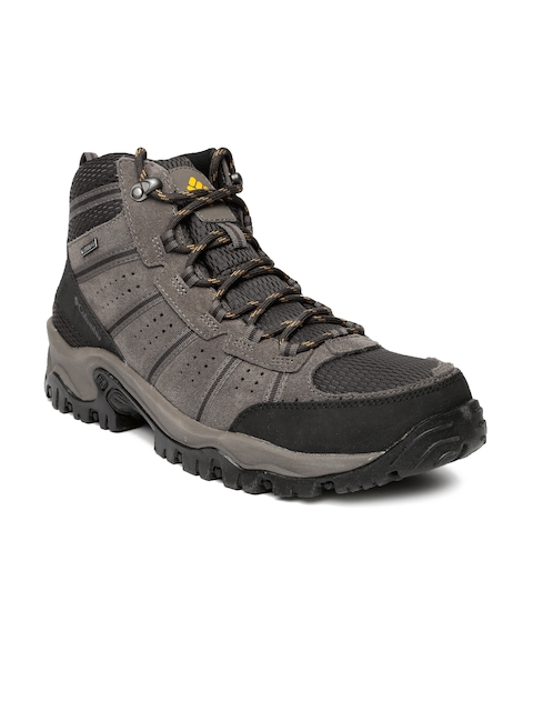 Columbia Men Brown Hiking Shoes