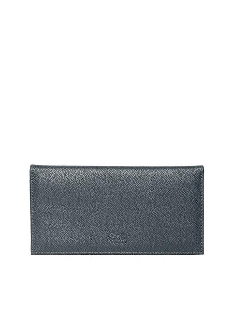Allen Solly Women Dark Green Textured Wallet