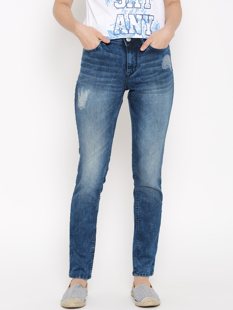 Lee Blue Holly Slim Fit Stretchable Jeans