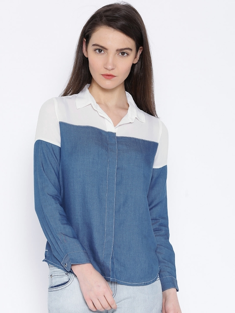 Lee Blue Casual Shirt