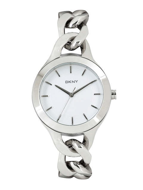DKNY Women Silver-Toned Dial Watch NY2216I