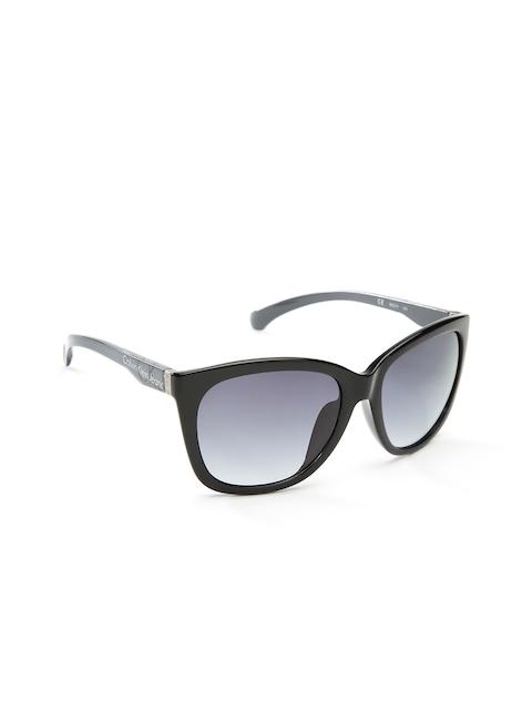 Calvin Klein Jeans Unisex Oversized Sunglasses CKJ744AF 001
