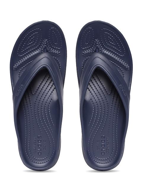 Crocs Unisex Navy Flip-Flops
