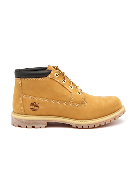 Timberland Women Brown Leather Boots