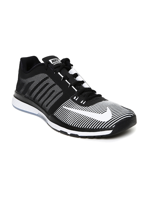 Nike Men White & Black Zoom Speed TR3 Training Shoes