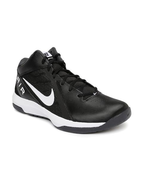 Nike Men Black The Air Overplay IX Basketball Shoes