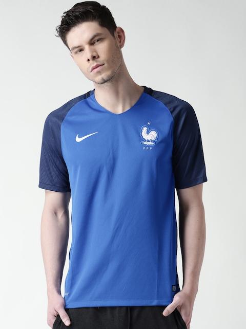 Nike Men Blue FFF SS HM Stadium Football Jersey