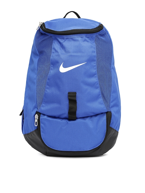 Nike Men Blue Club Team Swoosh Backpack