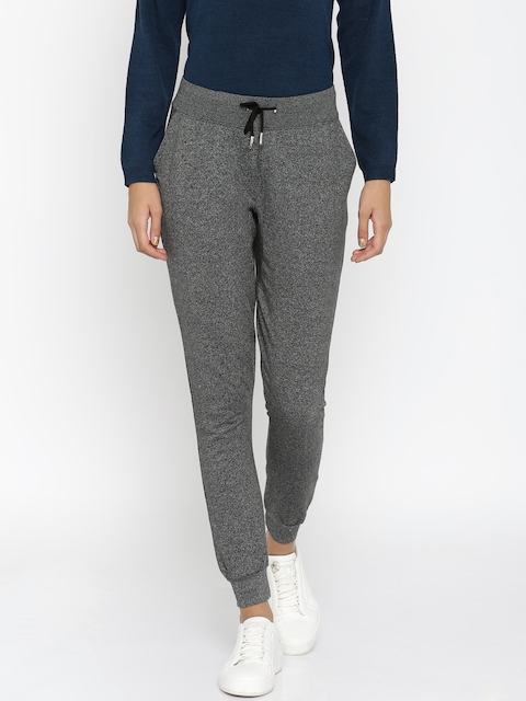 ether Charcoal Grey Melange Track Pants