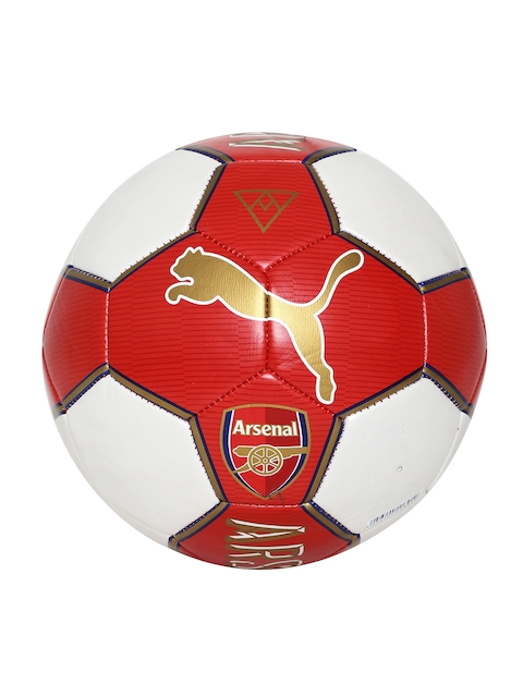 PUMA Unisex Red & White Arsenal Fan Football