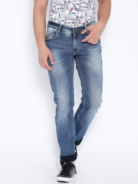 SPYKAR Blue Low-Rise Skinny Fit Stretchable Jeans  available at myntra for Rs.1039
