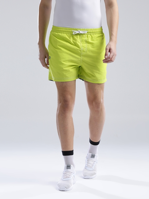Russell Athletic Neon Green Shorts