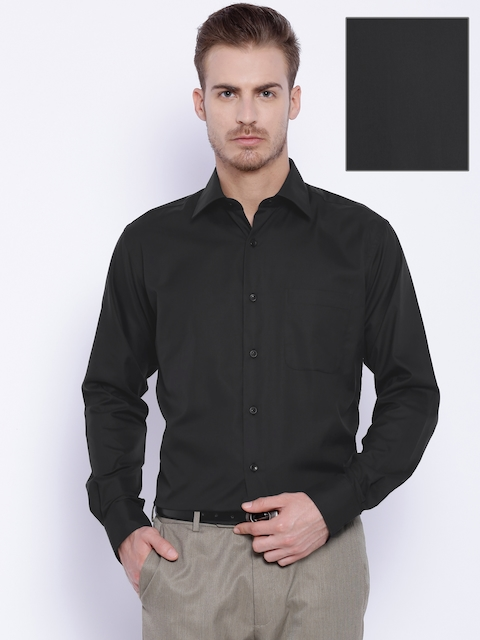 Raymond Black Contemporary Fit Formal Shirt