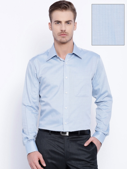 Raymond Blue Contemporary Fit Formal Shirt