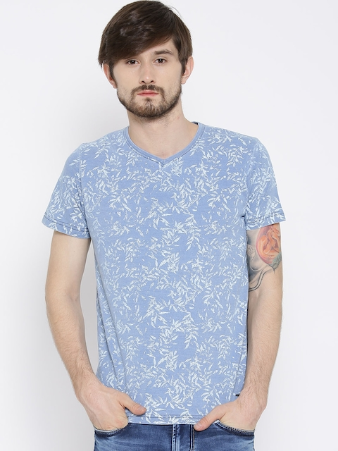 Killer Blue Printed T-shirt