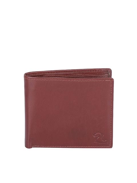 Kara Men Brown Leather Wallet