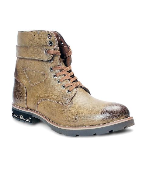 bacca bucci Men Tan Brown Boots