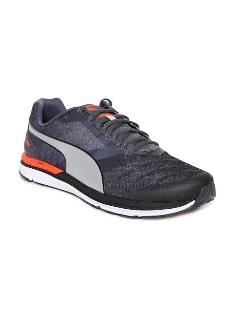 Puma Men Black Speed 300 IGNITE Running Shoes