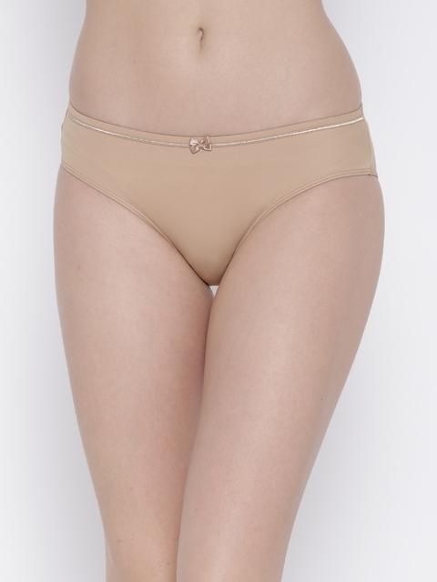 Amante Women Nude-Coloured Briefs PGCC01