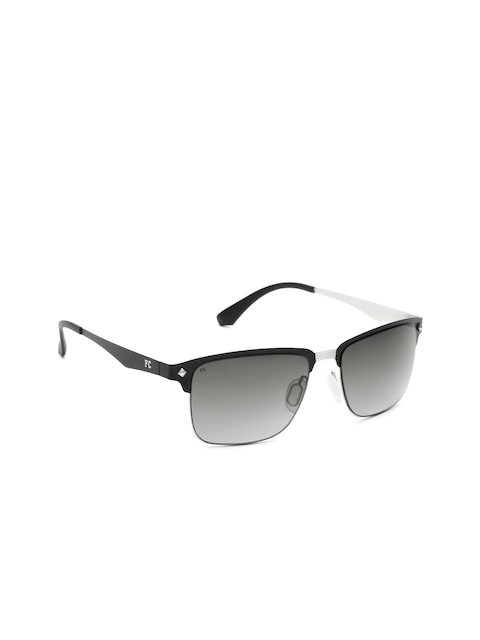 French Connection Unisex Half-Frame Square Sunglasses FC7342 C1