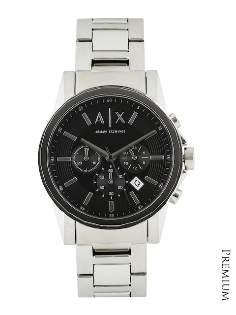 Armani Exchange Men Black Dial Chronograph Watch AX2084  available at myntra for Rs.12145