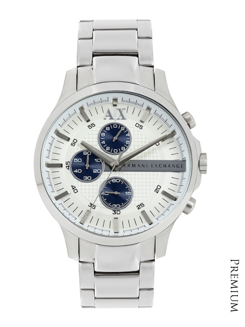 Armani Exchange Men White Dial Chronograph Watch AX2136  available at myntra for Rs.12145
