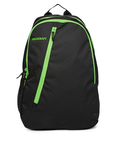 Wildcraft Unisex Black Backpack