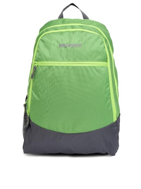 WIldcraft Unisex Green Backpack