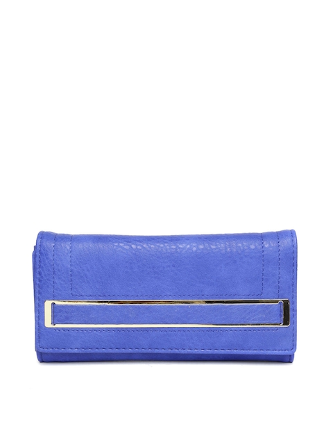Inc.5 Blue Textured Wallet
