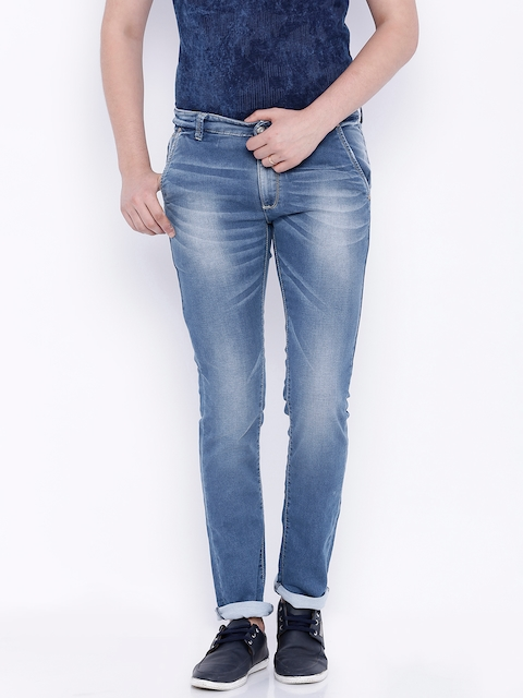 SPYKAR Blue Rover Washed Slim Jeans