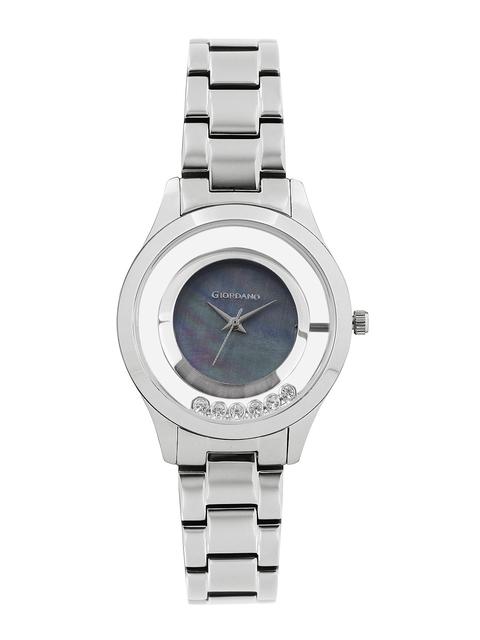 GIORDANO Women Pearly Grey Dial Watch 60093-11