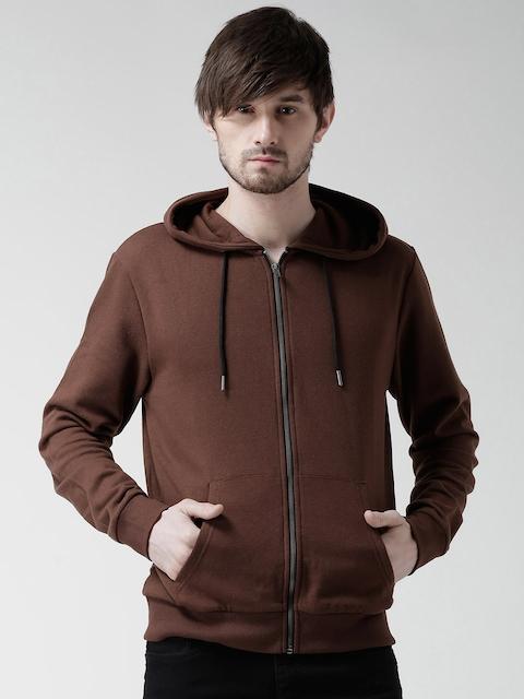 New Look Brown Hooded Sweatshirt
