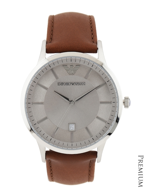 Emporio Armani Men Steel-Toned Dial Watch AR2463I