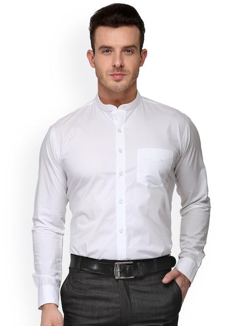 Hancock White Slim Fit Formal Shirt