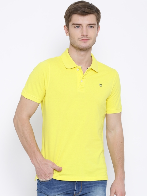 American Swan Yellow Polo T-shirt