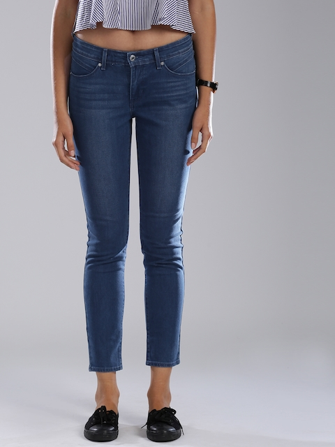 Levi's Blue Skinny Fit Stretchable Jeans  available at myntra for Rs.2989